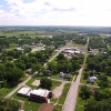 Aerial View of Lowry City, MO
